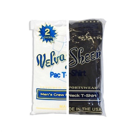 UNIVERSAL PRODUCTS VELVA SHEEN 2PACK T-SHIRTS