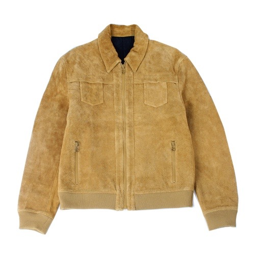 Rags McGREGOR SMALL POCKET LEATHER JACKET