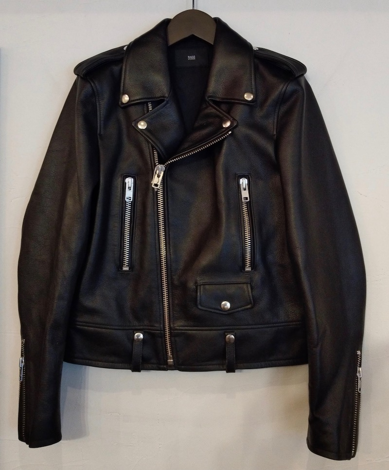 Rags McGREGOR W RIDERS LEATHER JKT