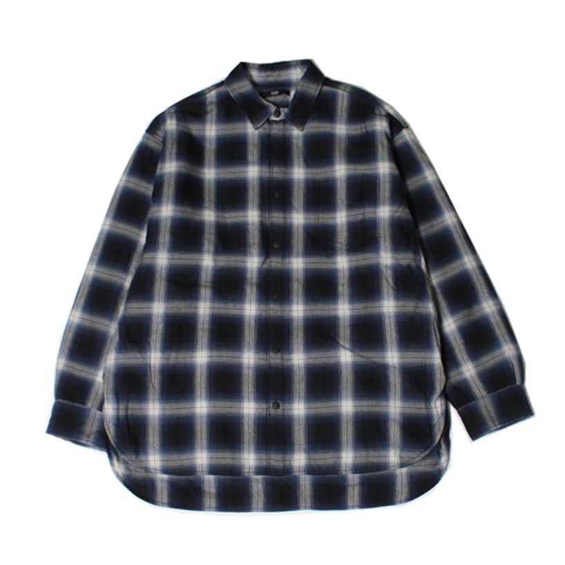 Rags McGREGOR PADDING OMBRE CHECK SHIRT
