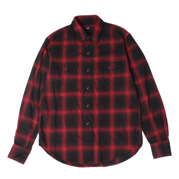 Rags McGREGOR OMBRE CHECK R/C SHIRTS