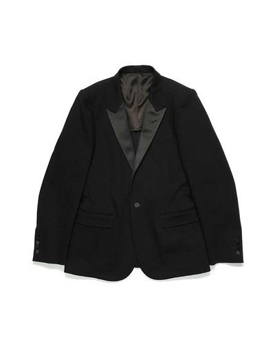 MINEDENIM Denim Peaked Lapel Tailored JKT M