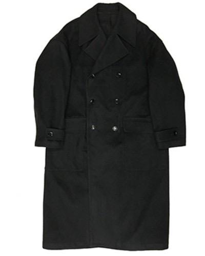 【MINEDENIM】Denim Melton Coat M