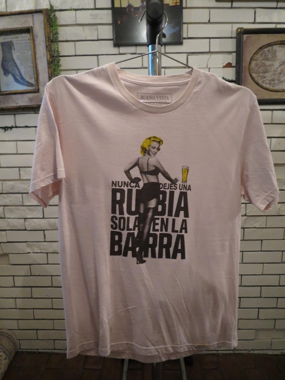 【BUENA VISTA】RUBIA tee