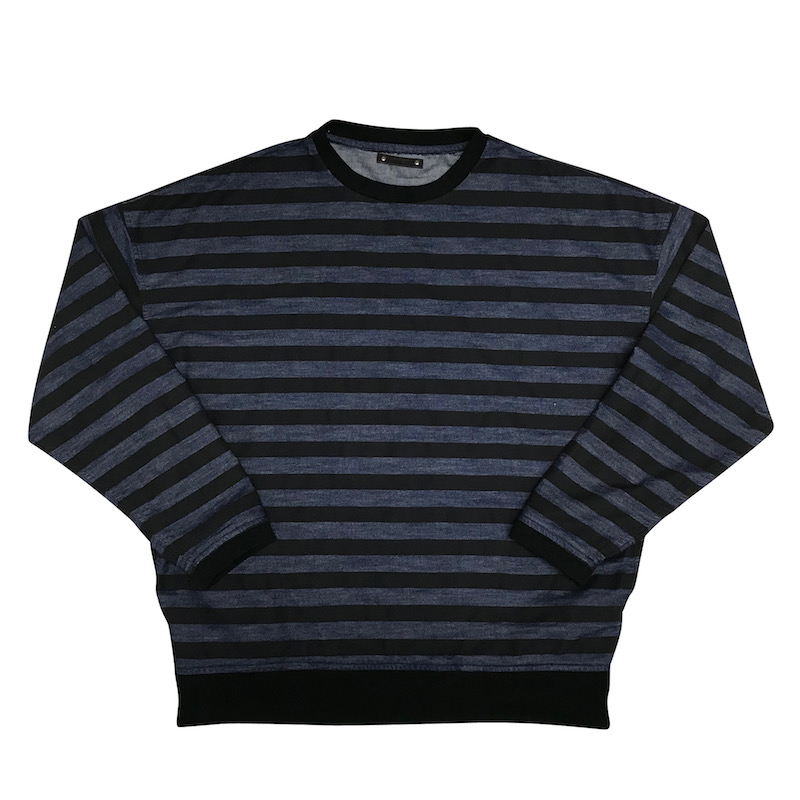MINEDENIM Denim Border Sweat PO U