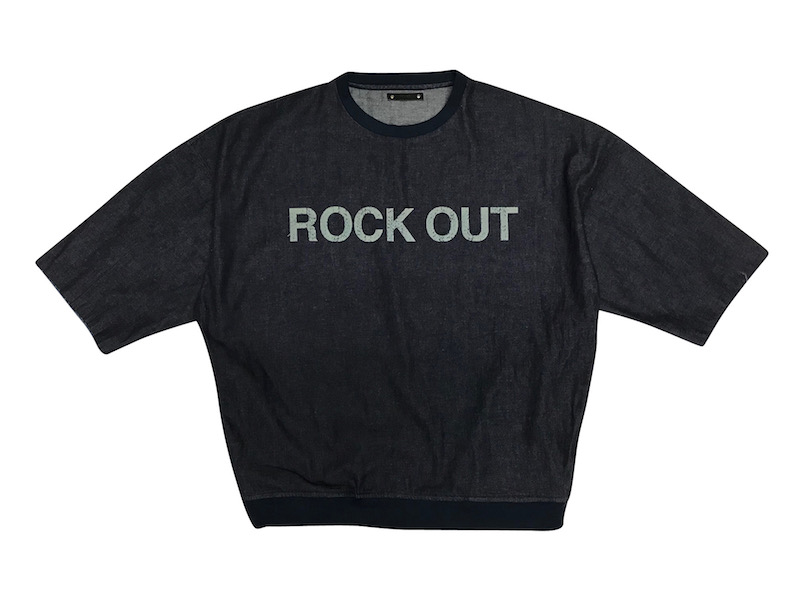 MINEDENIM Denim Rockout Sweat PO U