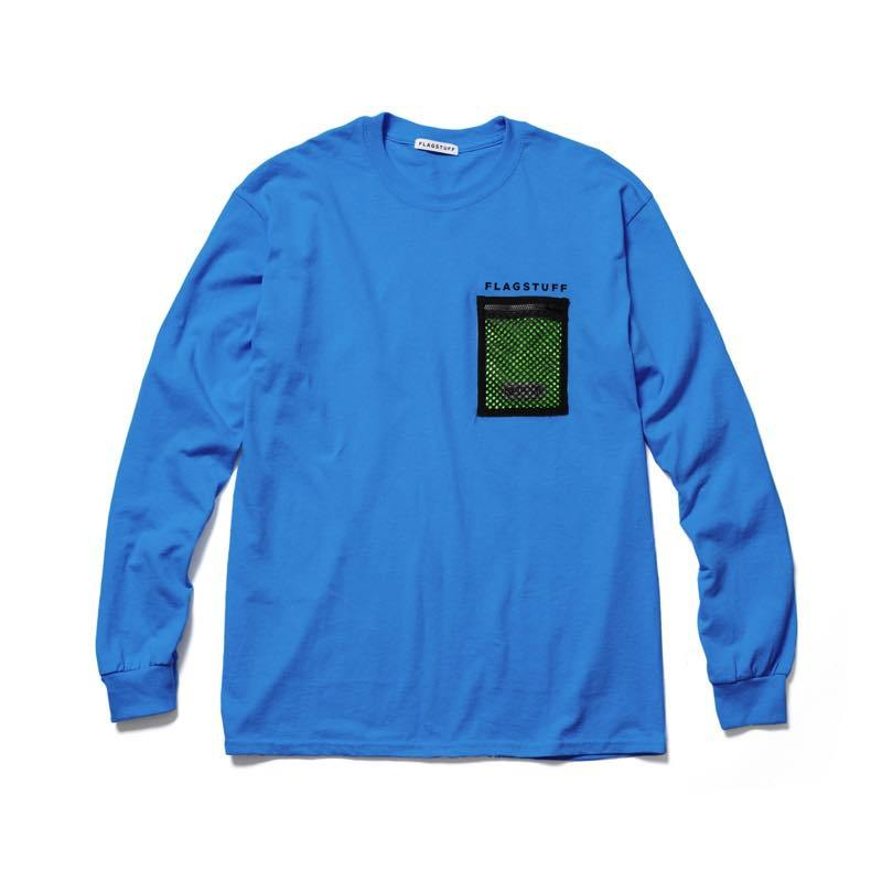 F-LAGSTUF-F×OUTDOOR PRODUCTS L/S T-SHIRTS