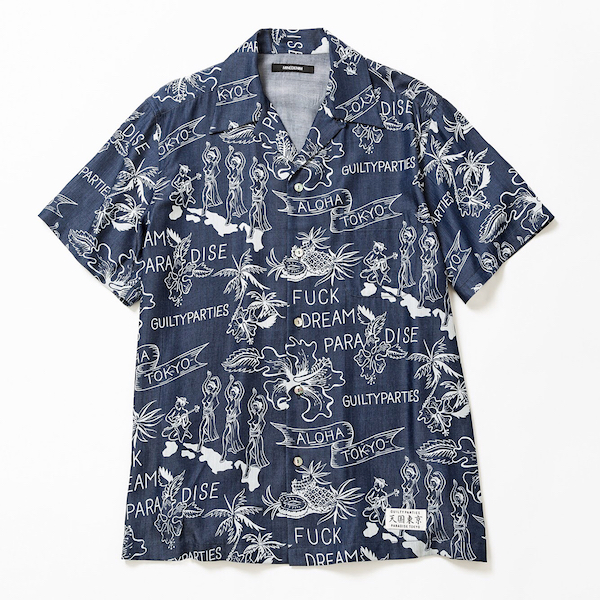 【MINEDENIM】WACKO MARIA × MINEDENIM Hawaiian Shirt