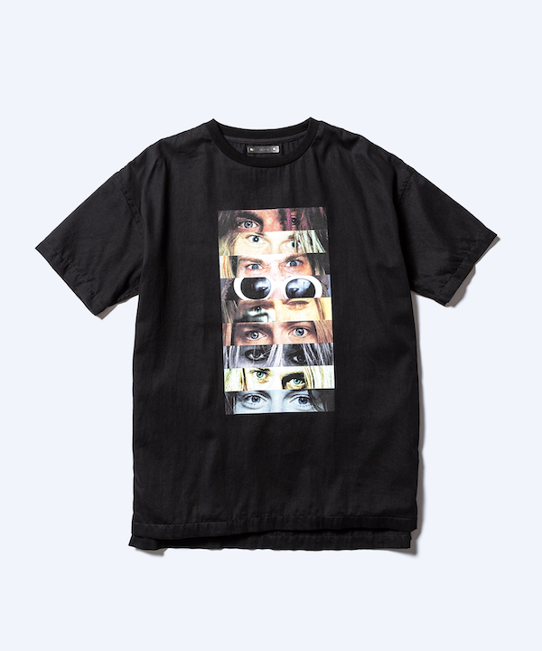 MINEDENIM Kurt Cobain Eye Print N.Loose T-SH