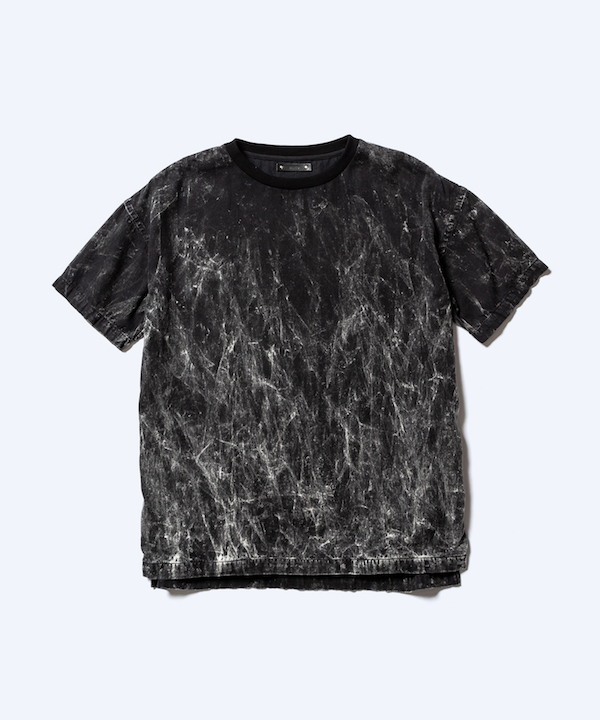 MINEDENIM Black Burn N.Loose T-SH