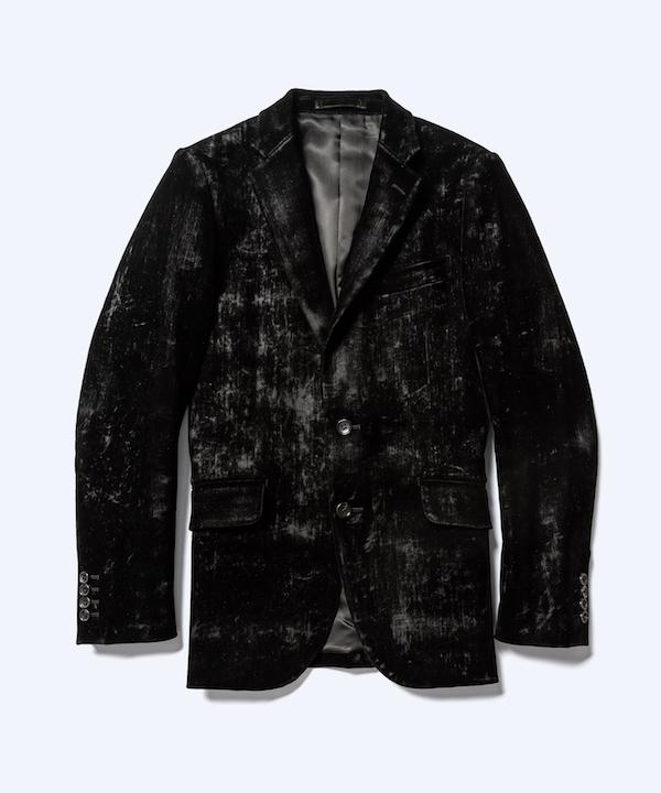 MINEDENIM Black Denim Frocky Tailored JKT