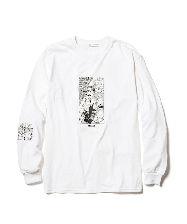 "F-LAGSTUF-F DRAGON BALL ""Super saiyans"" L/S Tee"
