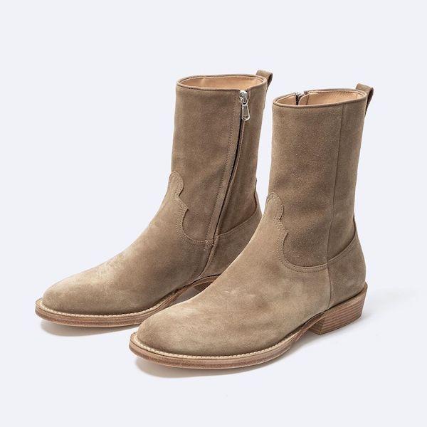 nonnative × MINEDENIM Side Zip Boots