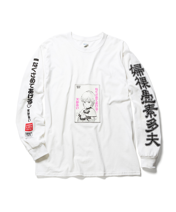 "F-LAGSTUF-F VIDEO GIRL ""VIDEO"" L/S Tee"
