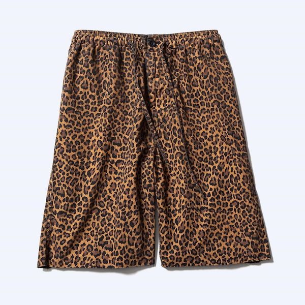 MINEDENIM Leopard Shorts