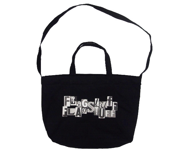 "F-LAGSTUF-F ""CROSS LOGO"" BAG"