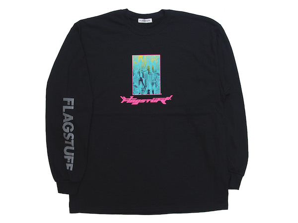 "F-LAGSTUF-F ""Bottled city"" L/S Tee 1"