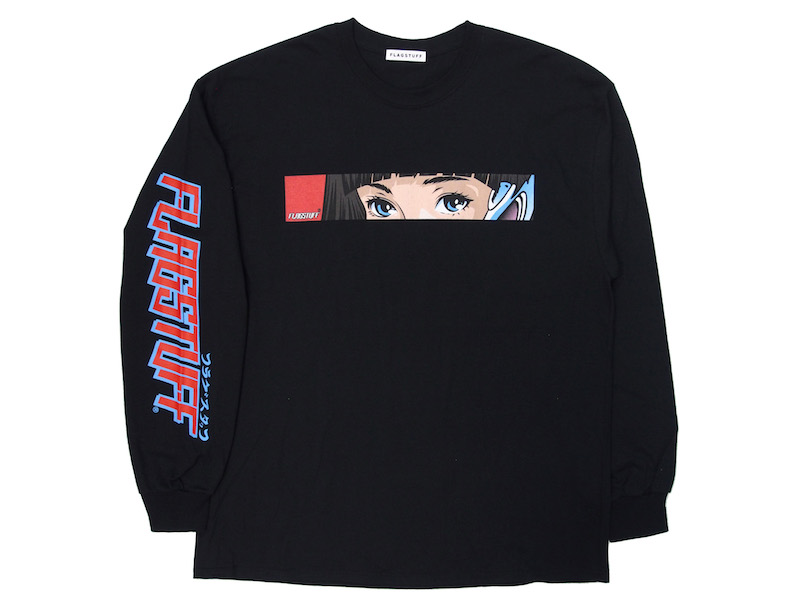 "F-LAGSTUF-F ""Dream and reality"" L/S Tee"