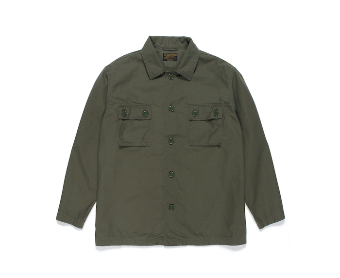 WACKO MARIA ARMY SHIRT (TYPE-1)