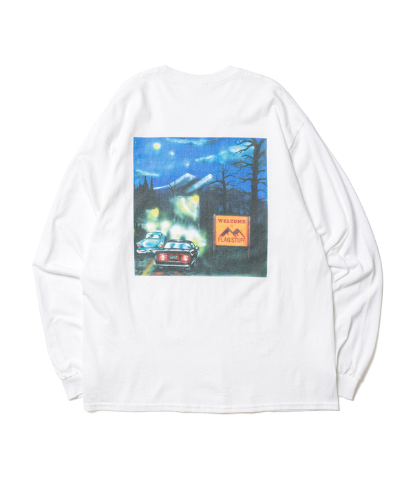 "F-LAGSTUF-F ""Welcome"" L/S Tee"