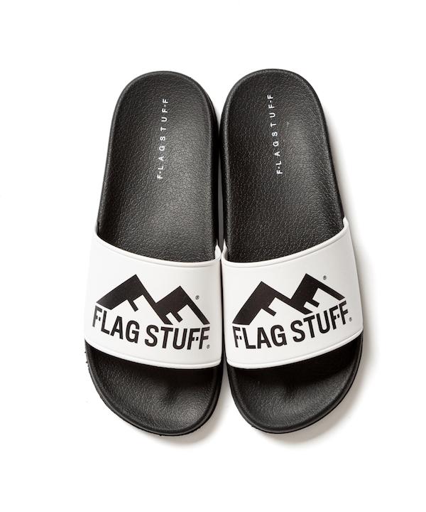 "F-LAGSTUF-F ""FW"" LOGO SANDAL"