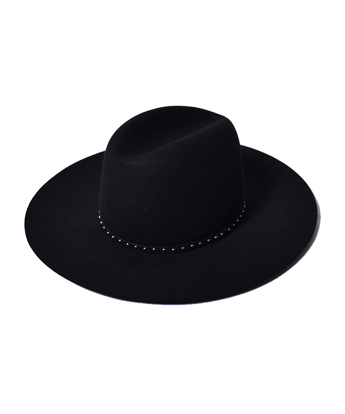 MINEDENIM Studs Western HAT