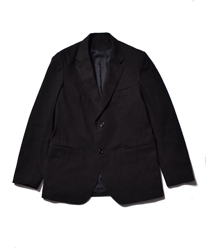 MINEDENIM F.Black Flannel Denim Western JKT