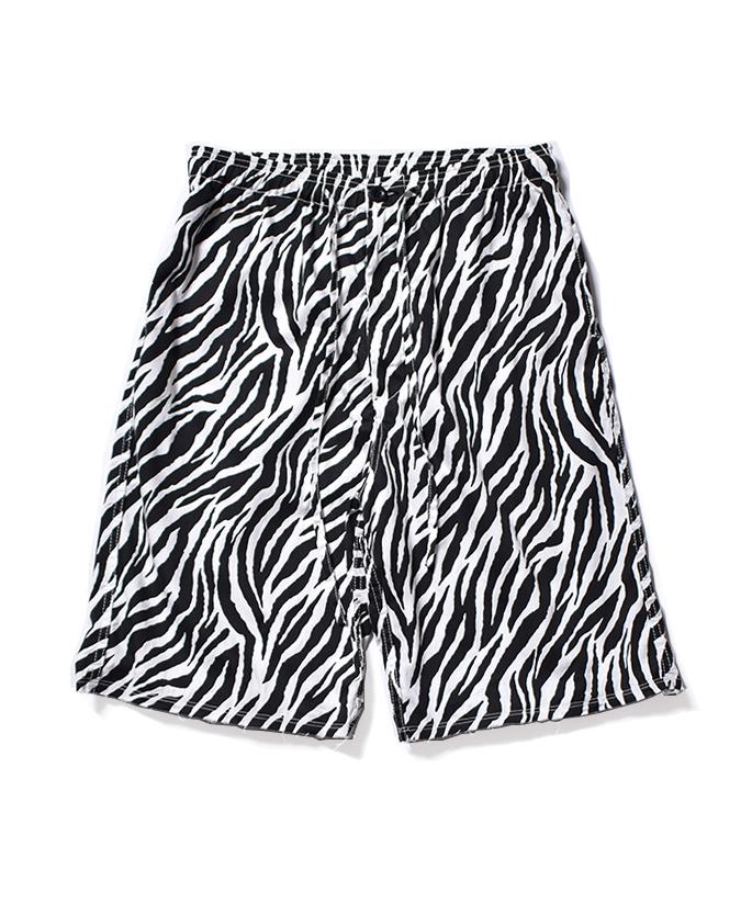 MINEDENIM Zeebra Denim Surf Shorts