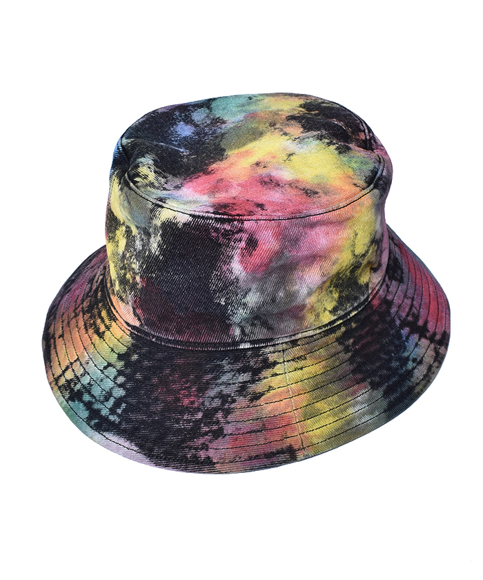 MINEDENIM BD Bleachdyed Denim Bucket HAT