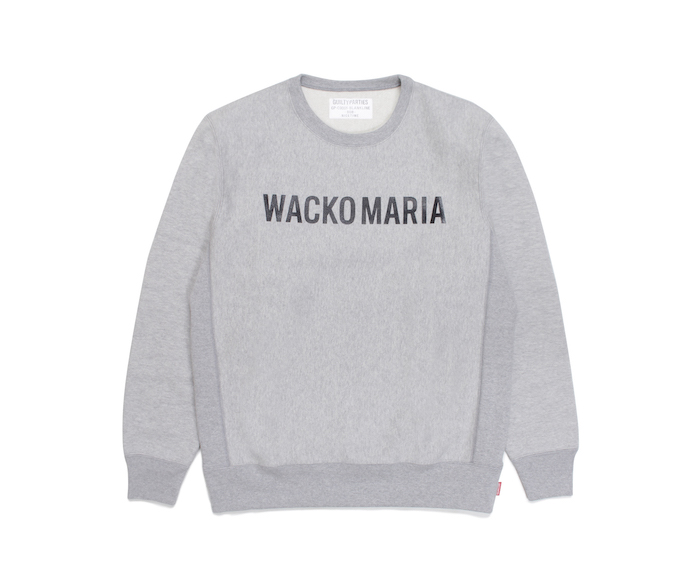 WACKO MARIA HEAVY WEIGHT CREW NECK SWEAT SHIRT