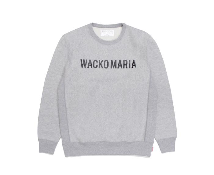 WACKO MARIA HEAVY WEIGHT CREW NECK SWEAT SHIRT