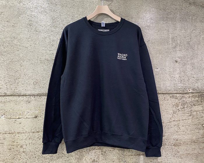 WACKO MARIA CREW NECK SWEAT SHIRT