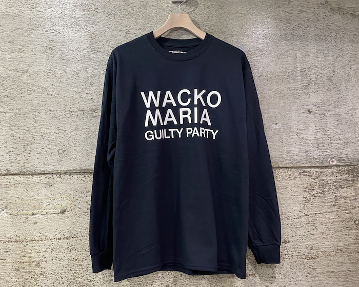WACKO MARIA CREW NECK LONG SLEEVE T-SHIRT