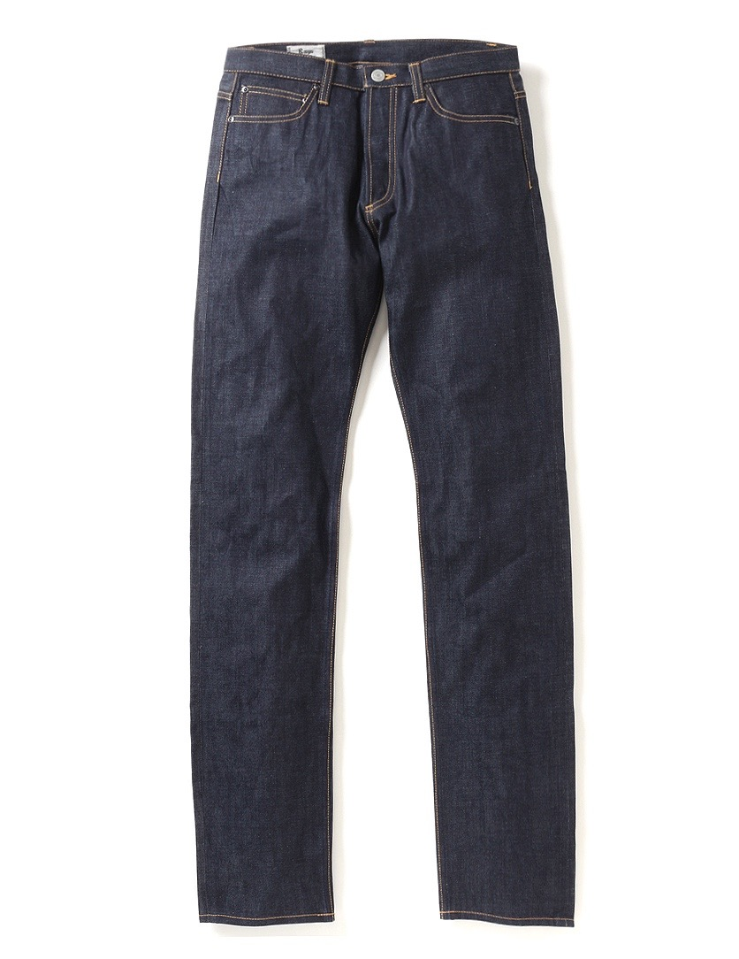 Rags McGREGOR STRAIGHT 5P DENIM PANTS / RIGID