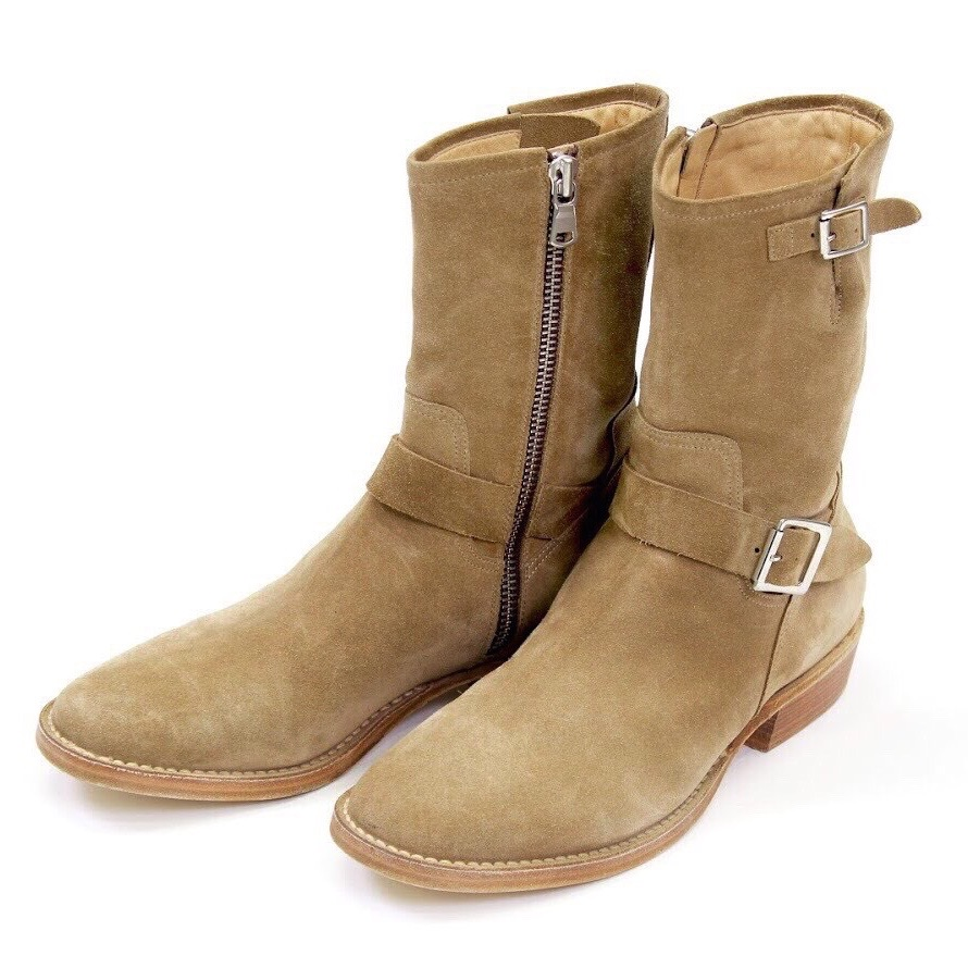 Rags McGREGOR SIDE ZIP BOOTS/nntv nonnative