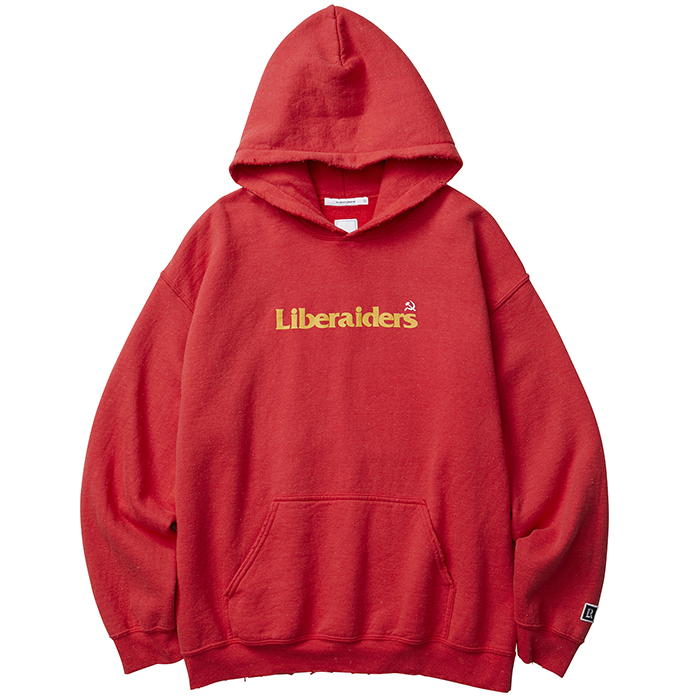Liberaiders HUMMER AND SICKLE LOGO PULLOVER HOODIE