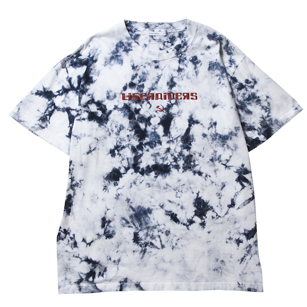 Liberaiders ACID DYED LOGO TEE