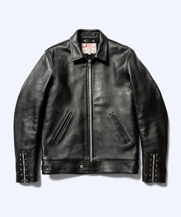 MINEDENIM ADDICT CLOTHES × MINEDENIM Sheepskin Center-Zip JKT