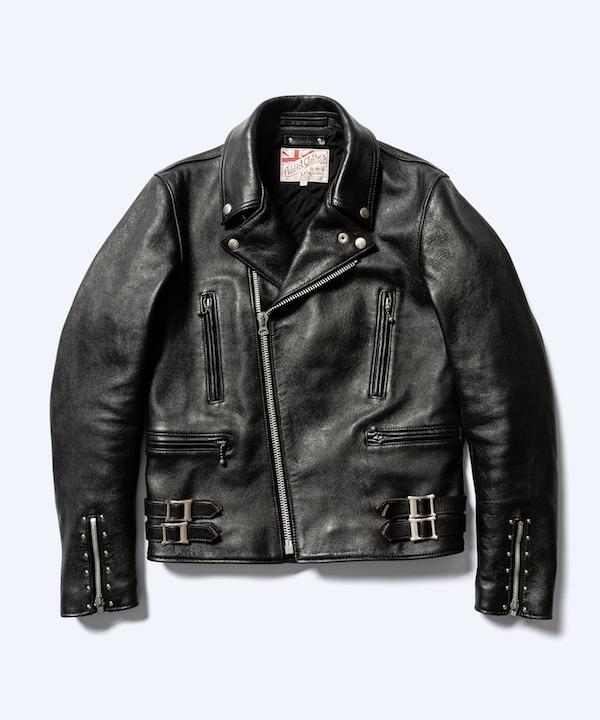 MINEDENIM ADDICT CLOTHES × MINEDENIM Sheepskin Double Riders JKT