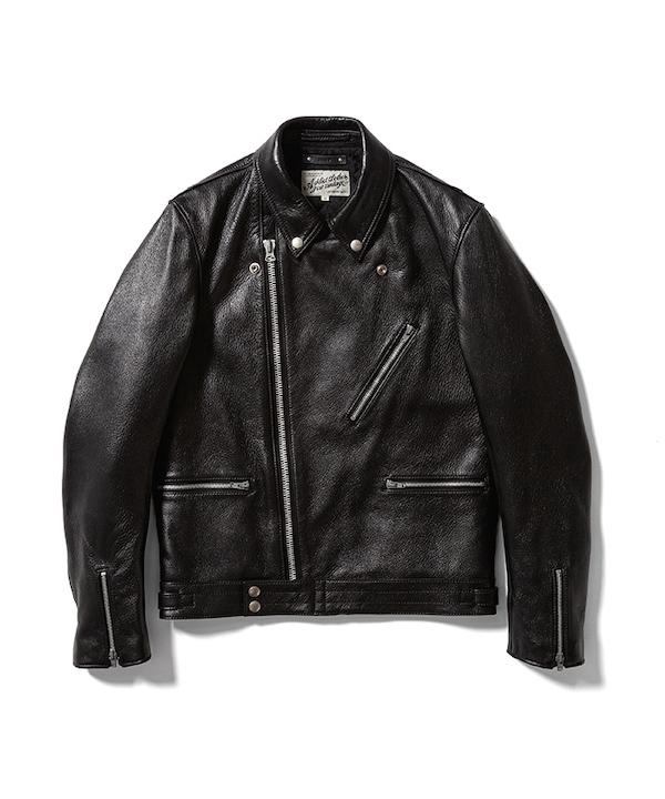 MINEDENIM ADDICT CLOTHES × MINEDENIM Leather Riders JKT