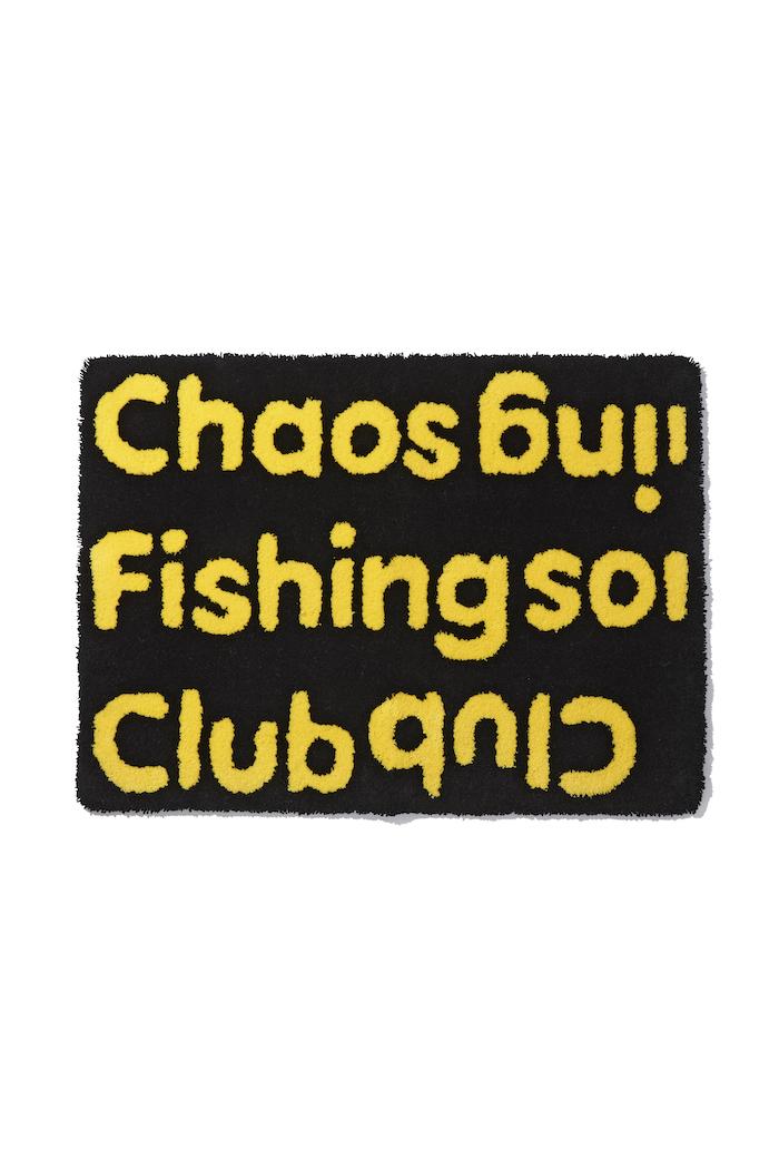 Chaos Fishing Club LOGO RUG MAT