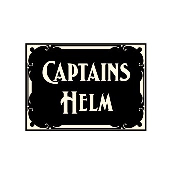 CAPTAINS HELM LOGO STICKER