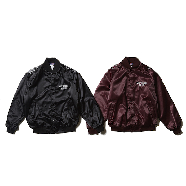 CAPTAINS HELM USA MADE SATIN ROSE JKT