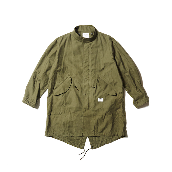 CAPTAINS HELM FISH TAIL MILITARY JKT - SOLID