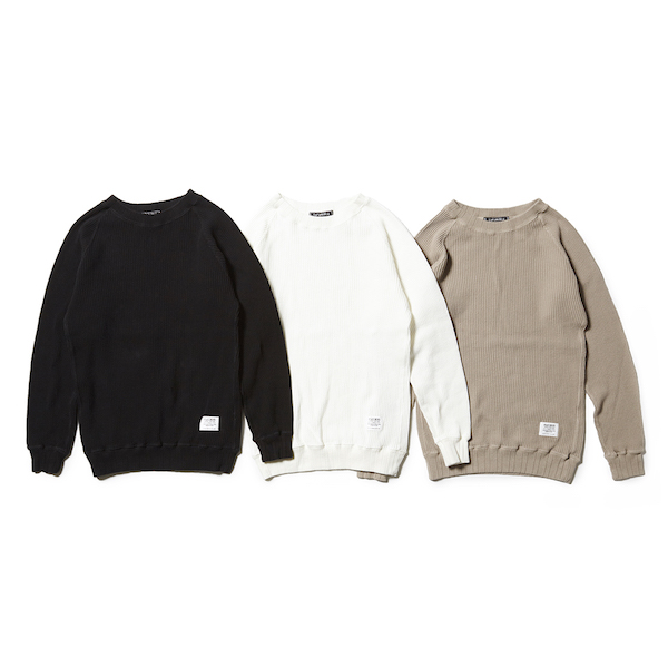 CAPTAINS HELM WAFFLE THERMAL L/S TEE