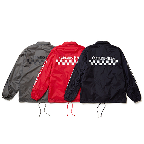 CH CHECKER COACH JACKET CAPTAINS HELM