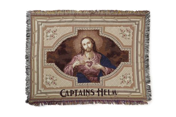 WEAVETEC × CAPTAINS HELM JESUS BLANKET