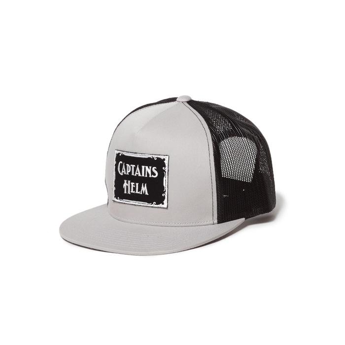 CAPTAINS HELM LOGO WP MESH CAP