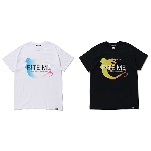CAPTAINS HELM × CHALLENGER BITE ME TEE
