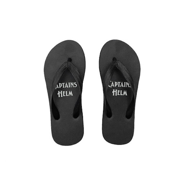 CAPTAINS HELM LOGO FLIP-FLOP (蓄光ロゴ)